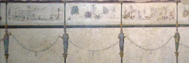 Fresc de la vil·la de la Farnesina, s. I a.C., Museo Nazionale Romano, Palazzo Massimo (2)
