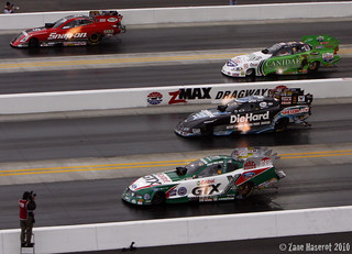 Cruz Pedregon, Paul Lee, Matt Hagan & Ashley Force Hood | by zaner2