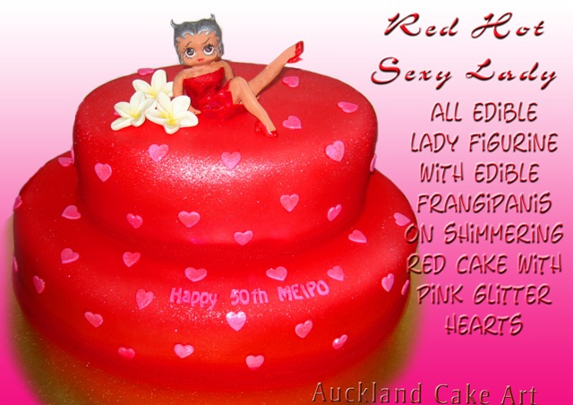 Surprising Red Hot Sexy Lady Birthday Cake New Zealand Red Hot Sexy L Flickr Funny Birthday Cards Online Benoljebrpdamsfinfo
