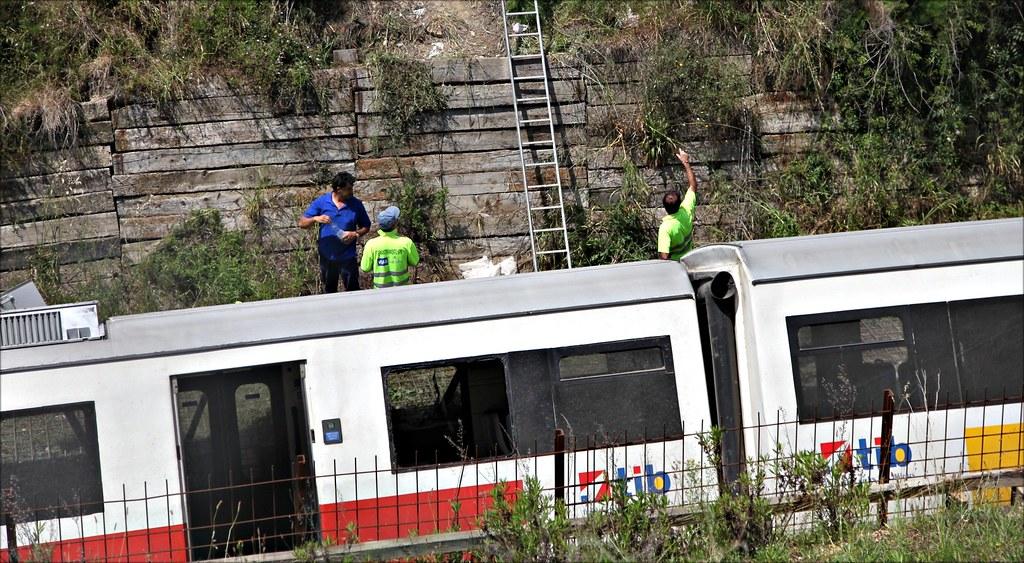 Accidente de tren en Sineu
