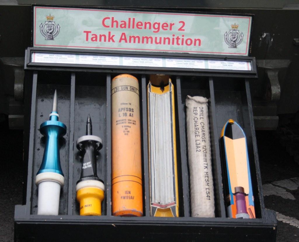 Challenger II Tank Ammunition