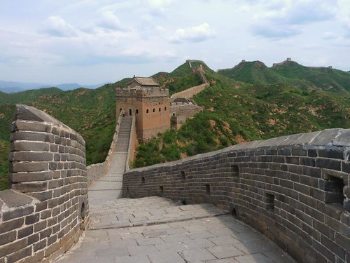 The Great Wall at Jinshanling, China
