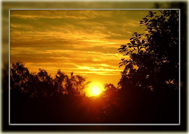 'It's just the sun rising...'