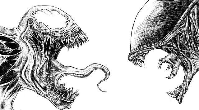 Venom Vs Alien