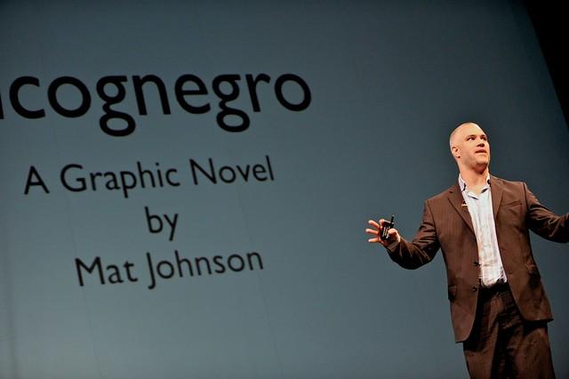 Mat Johnson at TEDxHouston 2010