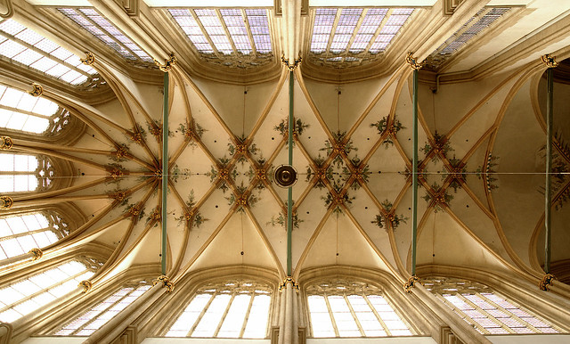 Kampen, Overijssel, Bovenkerk, choir vault