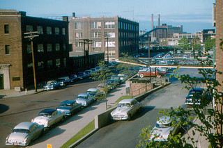 MIT - View from Senior House in East Campus (1955)