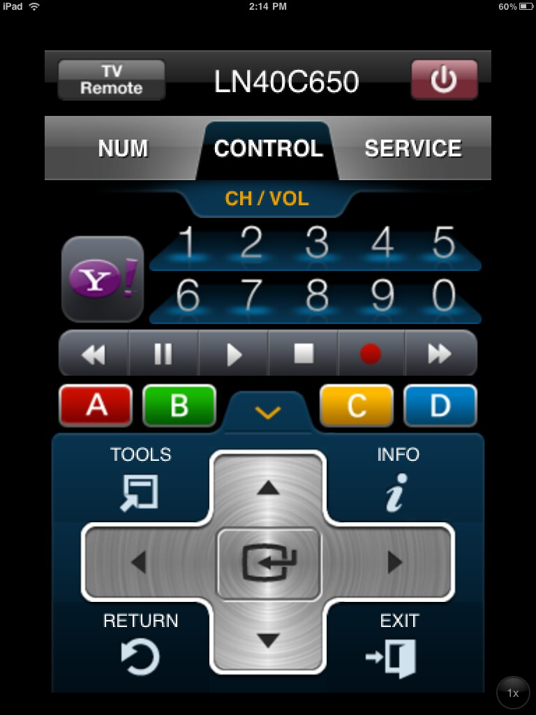 Samsung 2010 TV Remote iOS App | Not exactly the prettiest r… | Flickr