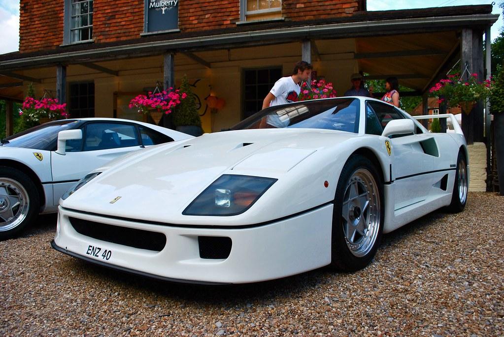 Ferrari F40 And 288 Gto White Spotted In Chiddingfold Flickr