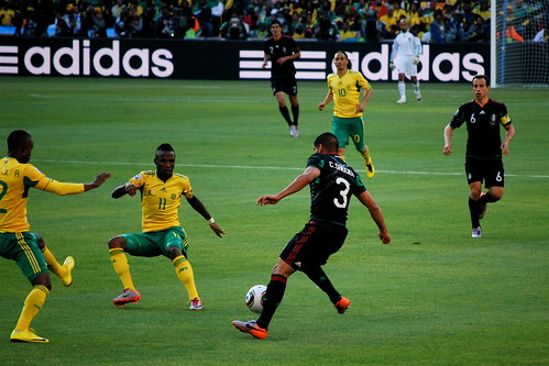 Mexico - South Africa Match at Soccer City | by Celso Flores