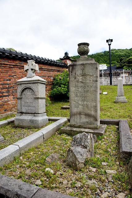函館外国人墓地 22 George Bewick 1843-1882