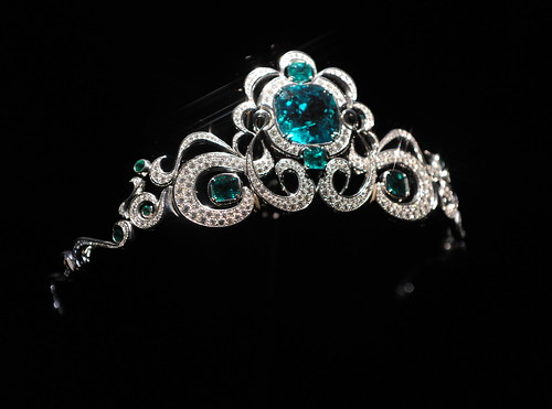 Emerald & Diamond Tiara | by euthman