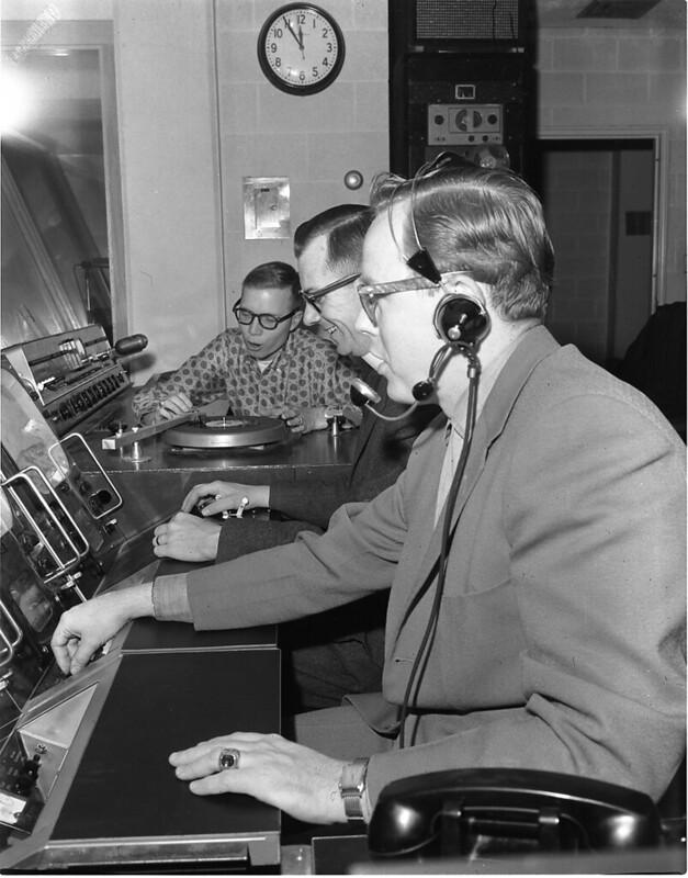 TV Studio Control Room_1961