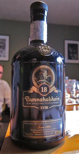 Bunnahabhain 18   by Billy's Booze Blog