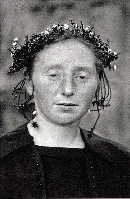 Rural bride, by August Sander ca. 1921-22