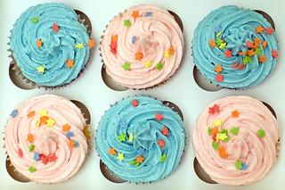 Pink & Blue Cupcakes   by StuartWebster