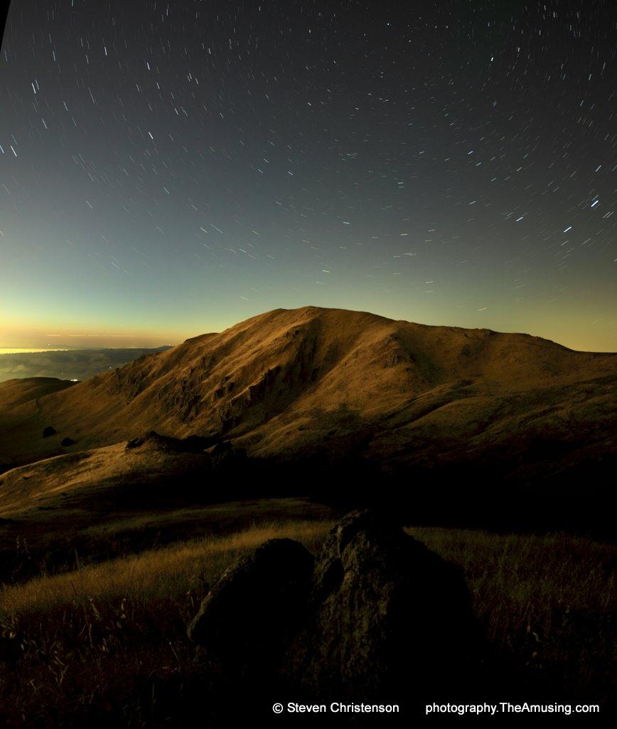Urban Star Trails: Mission Peak