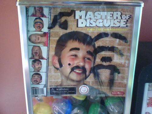 Master of Disguise Moustache Kits, Gumball Machine | by pjchmiel