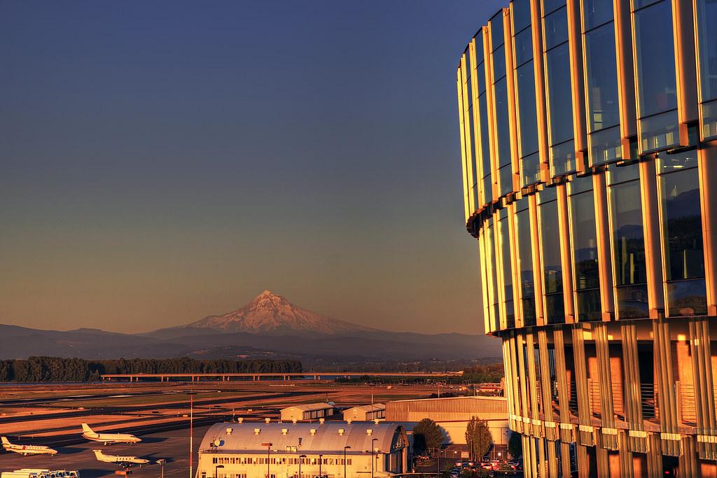 Portland Airport Long Term Parking >> Portland International Airport Long Term Parking Garage Wi