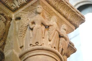 Genève, la cathédrale, chapiteaux gothiques (60)   by roger joseph