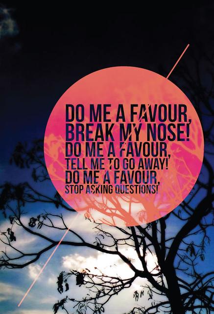 favour