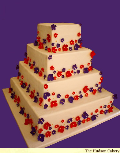 South Asian Wedding Cake   by HudsonCakery
