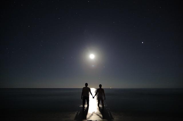 Sea, Moon, Love