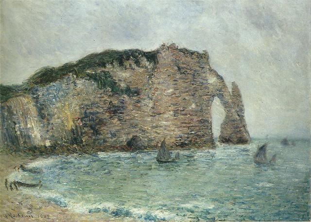Gustave Loiseau - Étretat, Normandy