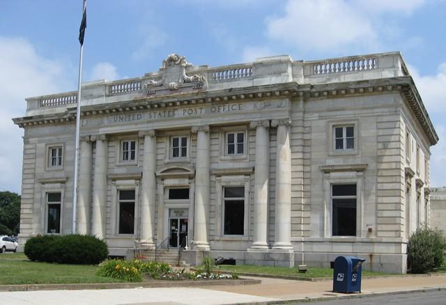 Niagara Falls NY ~ US Post Office Main ~ 1907