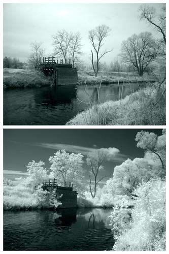 toronto ontario canada ir infrared vaughan humberriver yorkregion 11thconcession