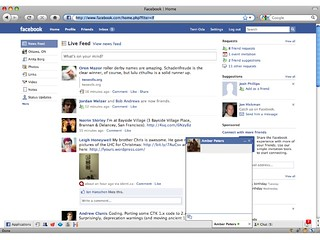 Old Facebook home page | by Terriko