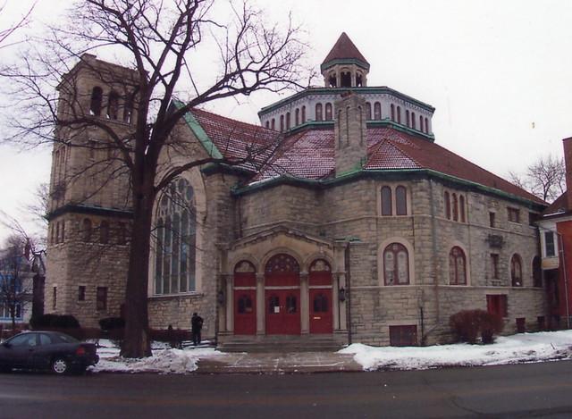 Buffalo NY ~ Plymouth Methodist Church ~ Karpeles Manuscript Library