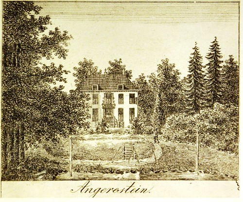 Huis Angerenstein in de 18de eeuw