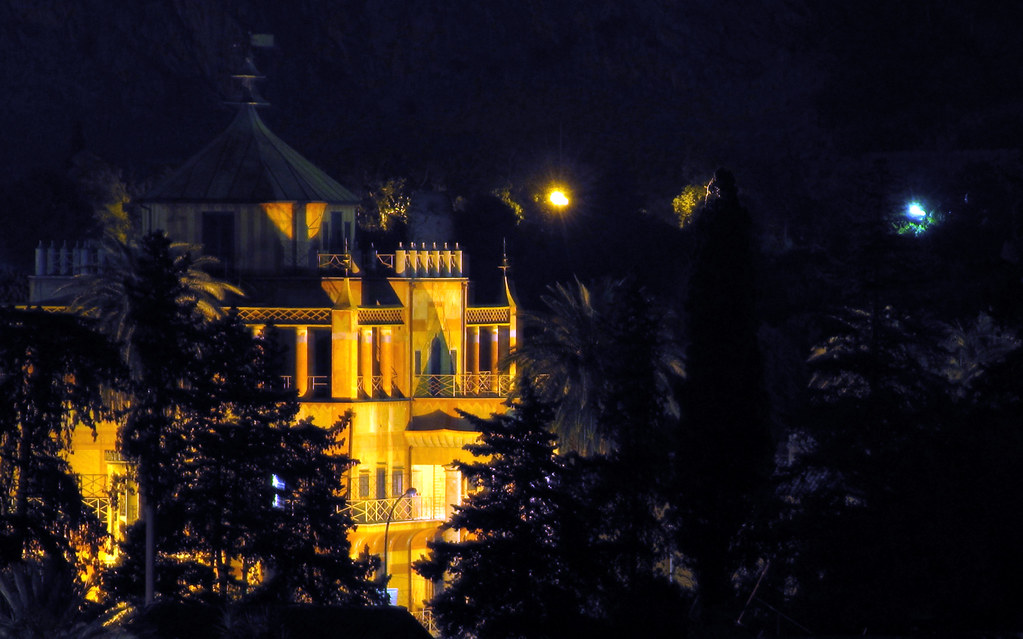 Palermo: Notturno Palazzina Cinese.