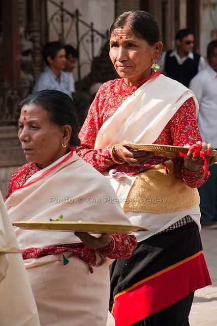 Traditional Newari Dress