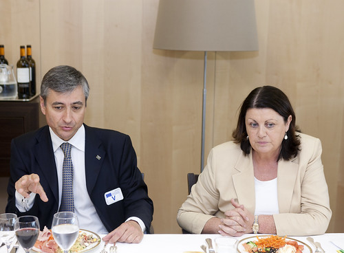Innovation Board meets with Commissioner Máire Geoghegan-Quinn, 13 October 2010; Brussels