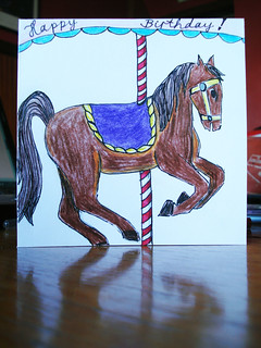 Crafting 365 Day 221: Carousel Horse