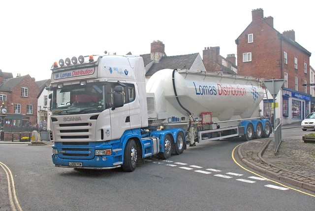 Lomas Scania R560 at Ashbourne