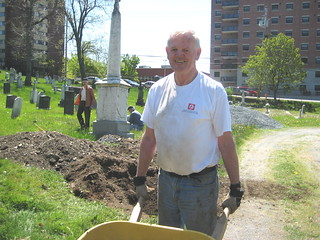 Holy Cross is grateful to many volunteers . . . like Joe | by Holy Cross Cemetery