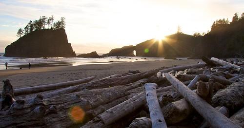 Beach Sunset   by Jordan Lewin