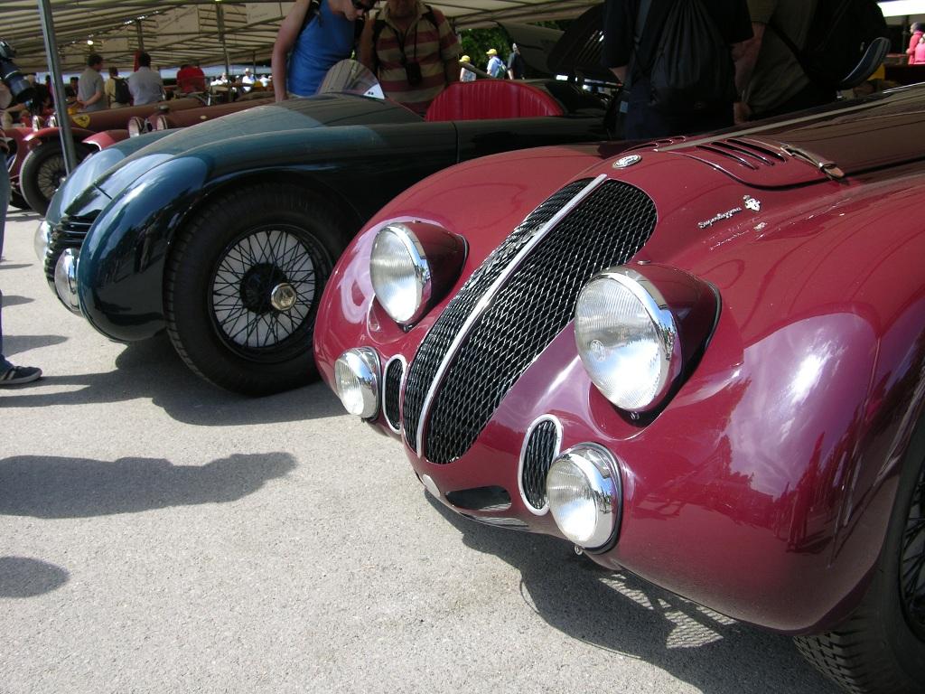 Alfa Romeo 8c 2900b Lm Coupe 1938  U0026 6c 2300 Aerodinamica S