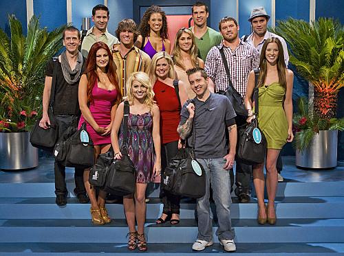 BB12 - Season 12 Cast | BIG BROTHER - (L-R) (Top row) Andrew