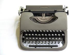Patria typewriter | by shordzi