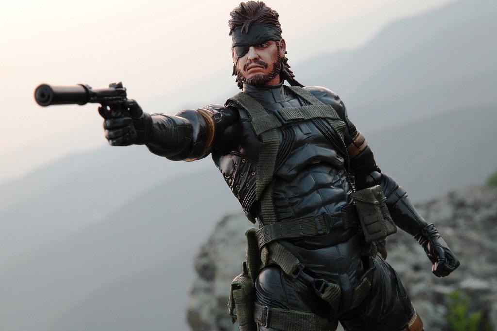 Metal Gear Solid Peace Walker Big Boss Figure From Www Ota