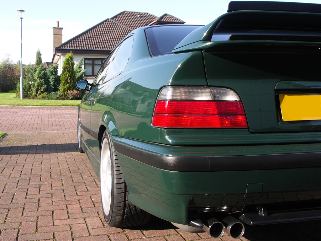 E36 M3 Gt Coupe British Racing Green Individual Bmw Car Club Gb Ireland Flickr