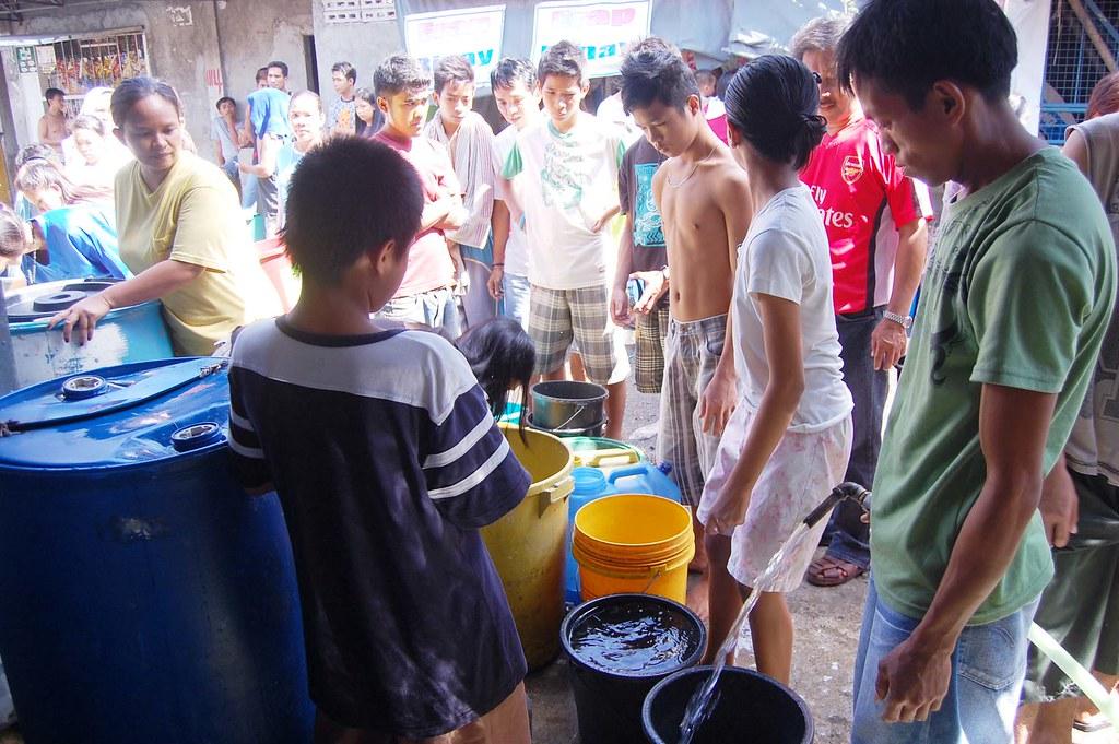 KAKULANGAN SA TUBIG | Photo caption: Kakulangan sa tubig  Da
