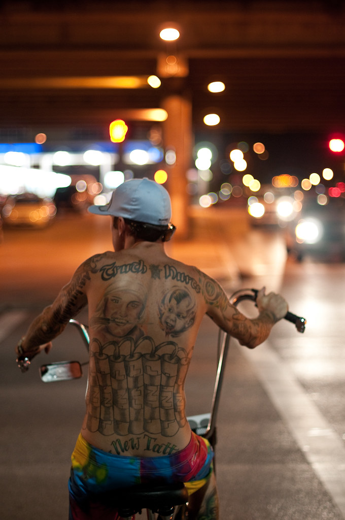 Tattooed Biker by christian.senger