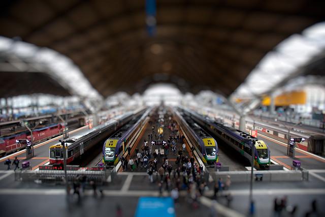 Southern Cross Station - Tilt Shift
