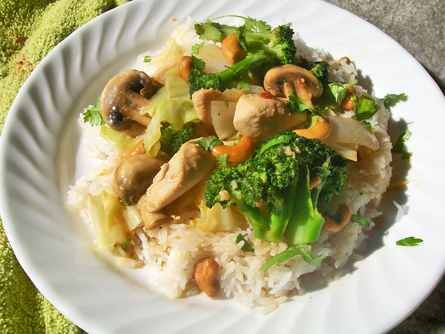 Homemade Cashew Chicken