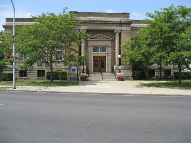 Niagara Falls NY ~ Niagara Falls Public Library ~ City Offices ~ 1904